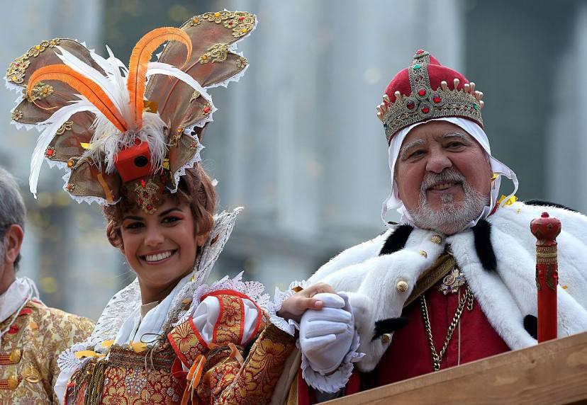 L'Angelo e il Doge, Carnevale di Venezia 2016 (VINCENZO PINTO/AFP/Getty Images)