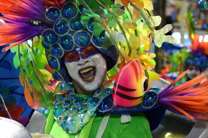 Carnevale di Rio (VANDERLEI ALMEIDA/AFP/Getty Images)