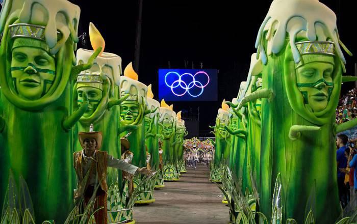 Carnevale Rio (VANDERLEI ALMEIDA/AFP/Getty Images)