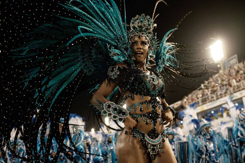 Carnevale di Rio 2016 (YASUYOSHI CHIBA/AFP/Getty Images)