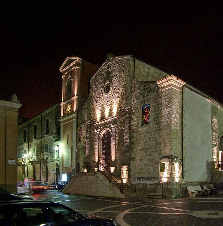 Chiesa di Sant'Agata a Sutera (di Berthold Werner. CC BY-SA 3.0. Wikicommons)