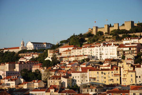 Castello di Sao Jorge, Lisbona, Portogallo