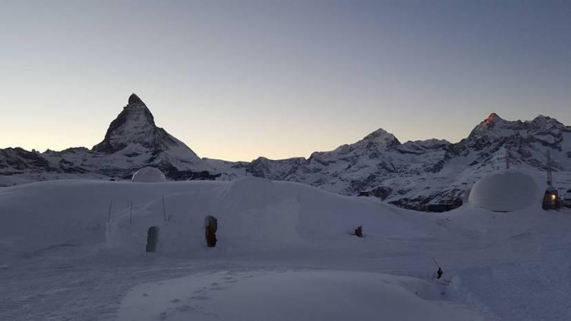 Igloo di Zermatt (Foto pagina Facebook Iglu-Dorf Zermatt)
