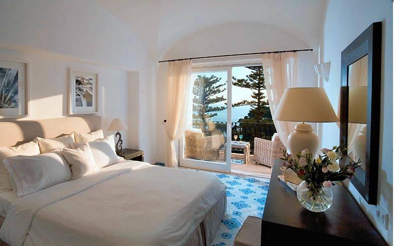 Hotel La Minerva, Capri (Sito web)