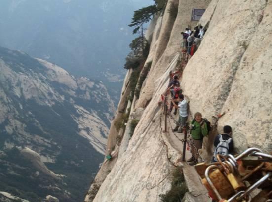 sentiero più pericoloso al mondo