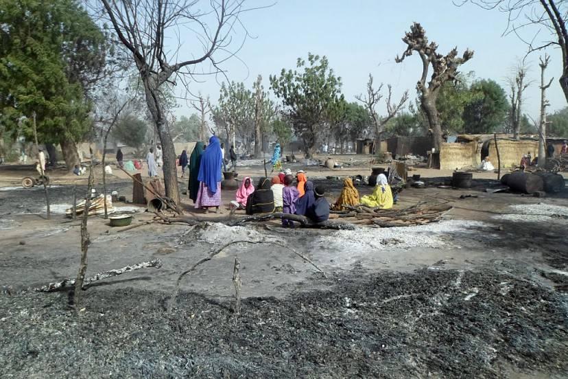 Strage di Boko Haram in Nigeria (STRINGER/AFP/Getty Images)