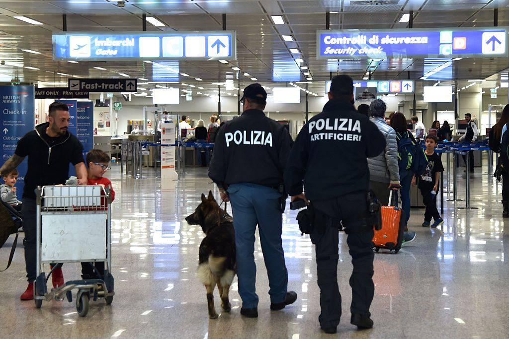 Aeroporto di Fiumicino (TIZIANA FABI/AFP/Getty Images)