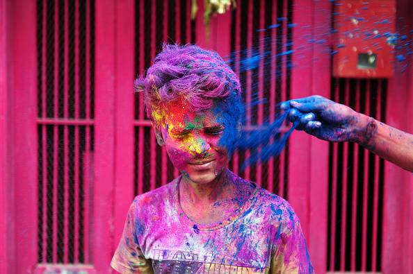 Holi Festival (ARUN SANKAR/AFP/Getty Images)