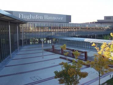 Aeroporto di Hannover (Foto di Albion. CC BY-SA 4.0, Wikipedia)