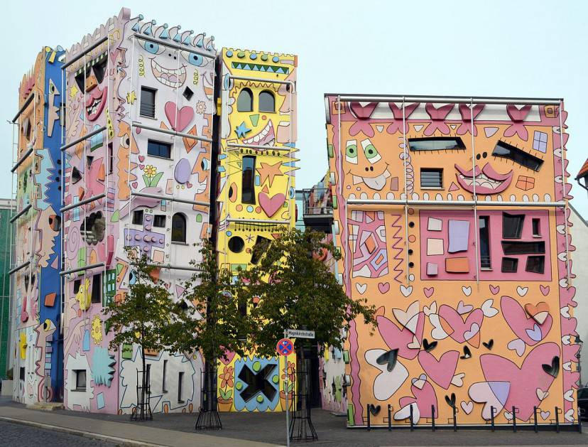 Happy Rizzi House (Foto di Brunswyk. CC BY-SA 3.0, Wikipedia)