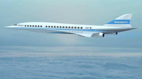 Aereo supersonico Boom