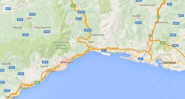 Arenzano (Google Maps)
