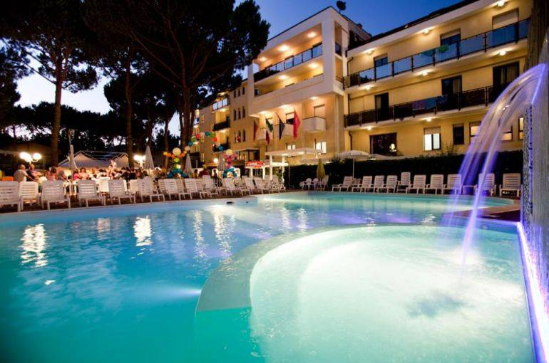 Club Family Hotel, Cesenatico (Sito web)