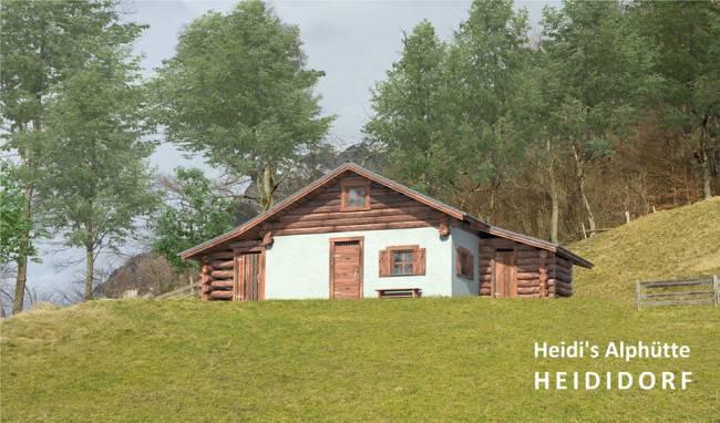 La casa di Heidi (Heididorf Facebook)