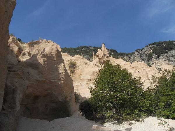 Le Lame Rosse, Parco Nazionale di Monti Sibillini (Foto di Marcosibillini97. CC BY-SA 3.0, Wikipedia)