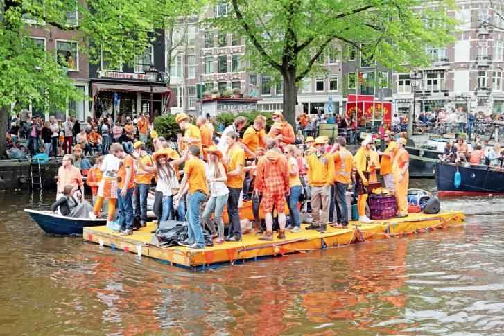 Festa del Giorno del Re ad Amsterdam (Thinkstock)