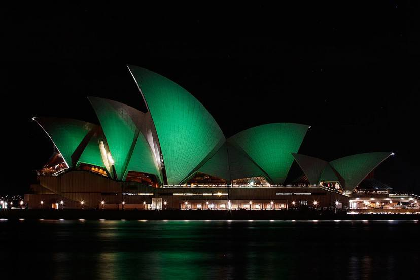 San Patrizio a Sydney, Opera House (Brendon Thorne/Getty Images)