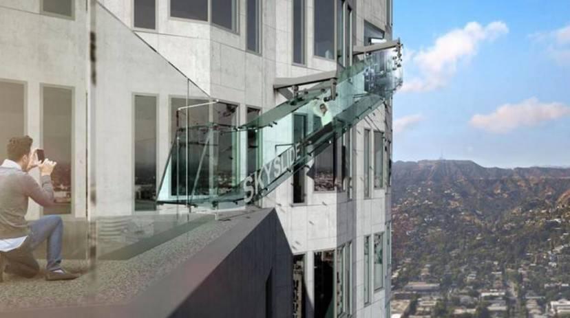 Skyslide, Los Angeles (Foto Skyspace, Facebook)