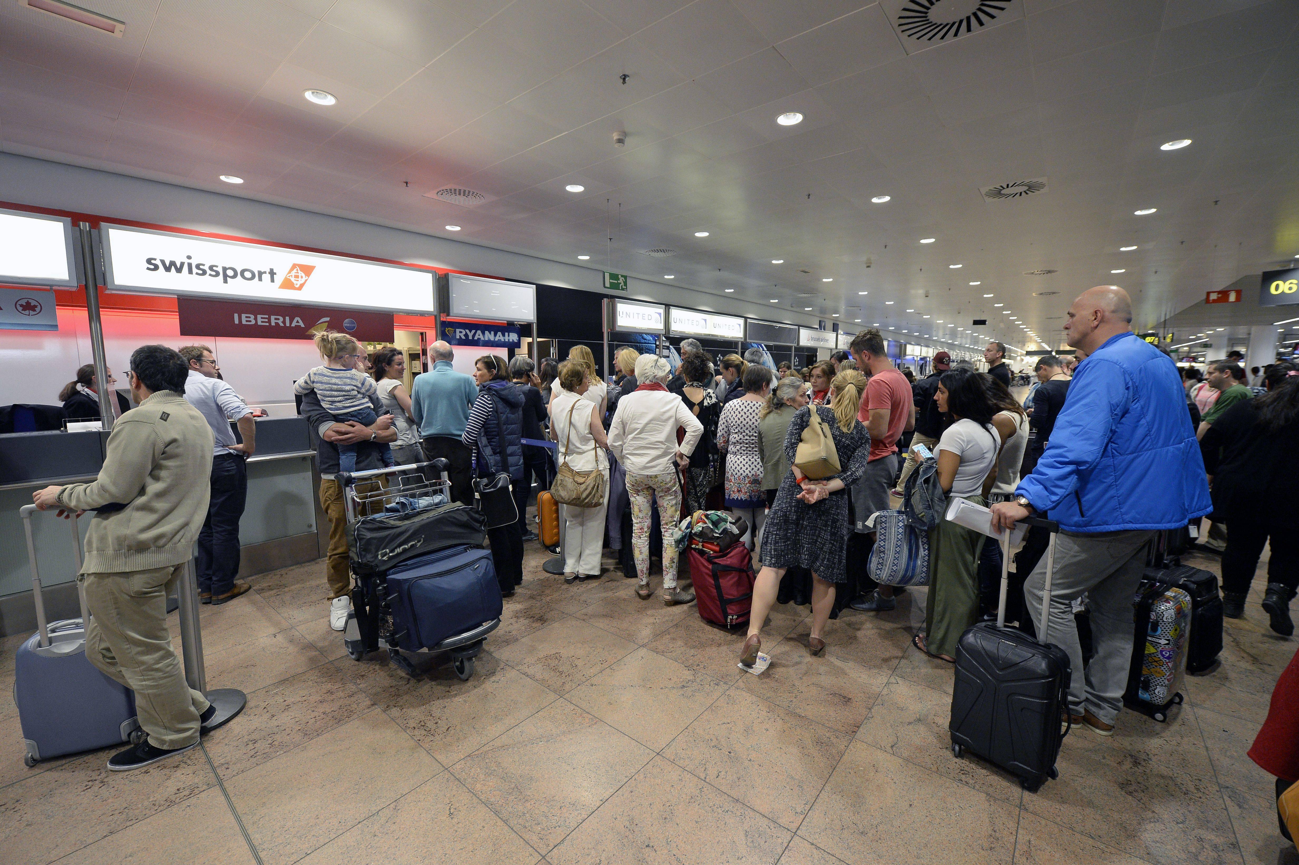 Aeroporto di Bruxelles-Zaventem (ERIC LALMAND/AFP/Getty Images)