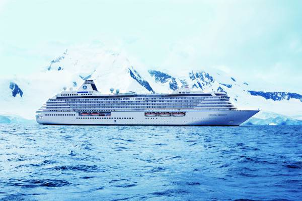 Crystal Serenity (Photo courtesy of Crystal Cruises)