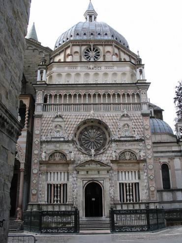 Cappella Colleoni (Di Giorces, CC BY-SA 3.0, Wikipedia)