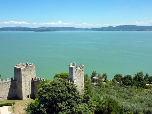 Castiglione del Lago, Trasimeno (Di Adbar, CC BY-SA 3.0, Wikipedia)