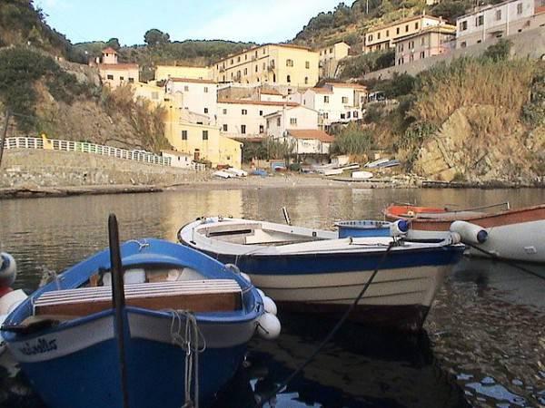 Porticciolo dell'Isola di Gorgona (Di Giovanni Spinozzi. CC BY-SA 3.0, Wikipedia)