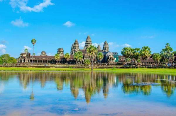 Angkor Wat, Cambogia, (Istock)