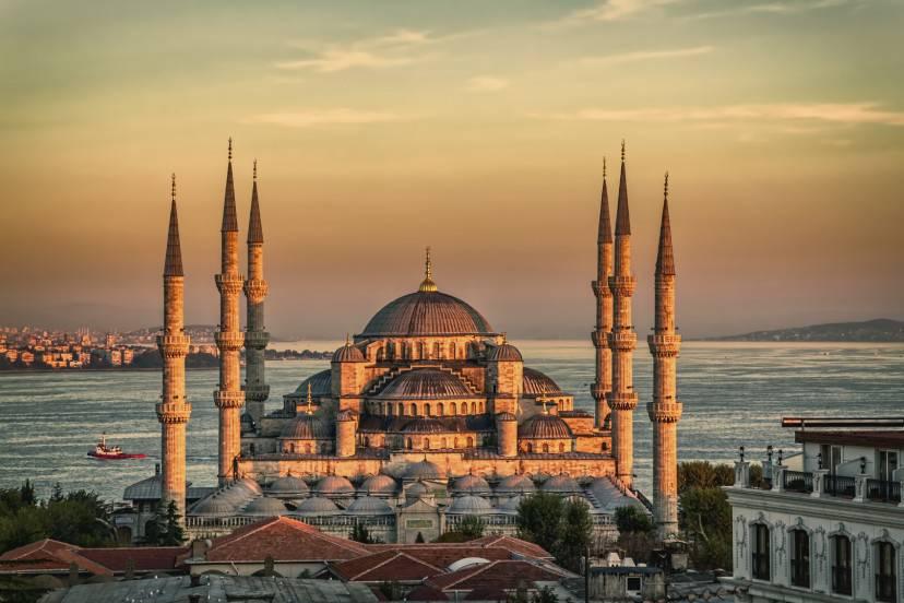Istanbul, la Moschea Blu (iStock)
