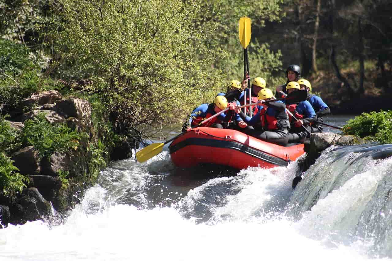 rafting italia luoghi