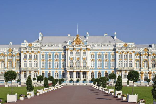 Il Palazzo di Caterina a San Pietroburgo (iStock)