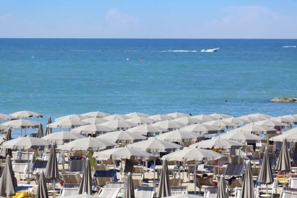 Spiaggia della Rviera Romagnola (iStock)