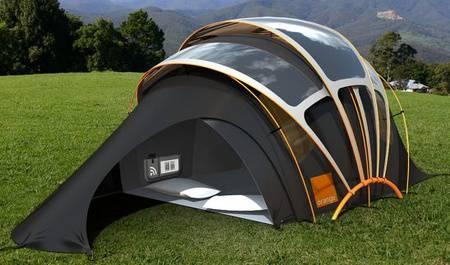 tenda-da-campeggio tecnologica