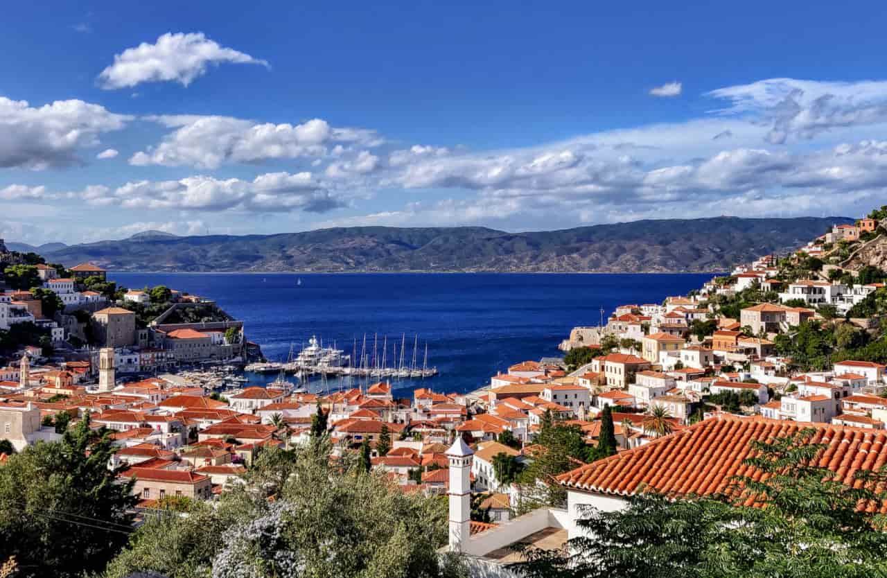 hydra isola grecia
