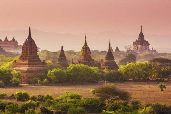 Templi di Bagan, Birmania/Myanmar (iStock)