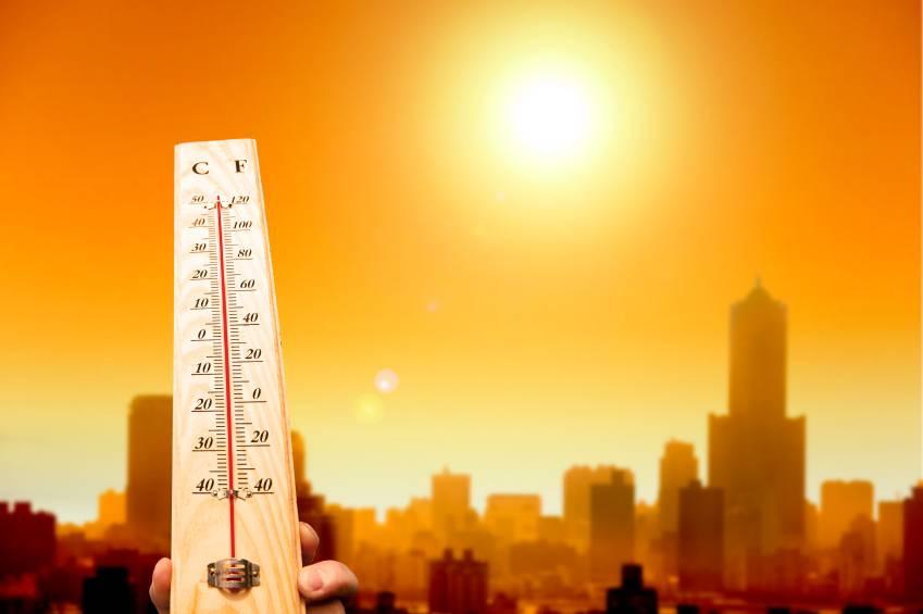 caldo afa sole