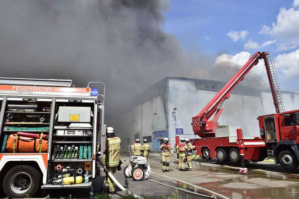 Incendio a Berlino (JOHN MACDOUGALL/AFP/Getty Images)