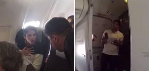 Sorpresa in aereo
