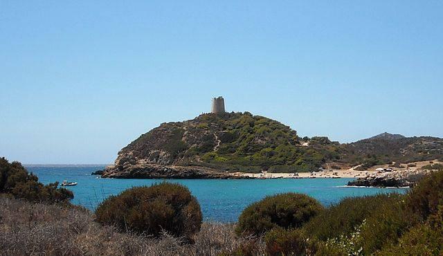 Domus De Maria, Torre di Chia (Cristiano Cani, CC BY 2.0, Wikicommons)