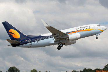Boeing della JetAirways (Rick Schlamp, CC BY-SA 2.0, Wikipedia)