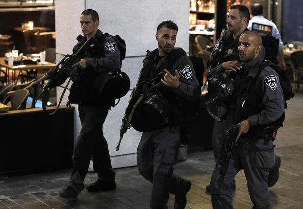 Attentato a Tel Aviv (JACK GUEZ/AFP/Getty Images)