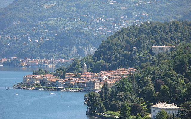 Bellagio, Lago di Como (Marcus90, CC BY 3.0, Wikipedia)