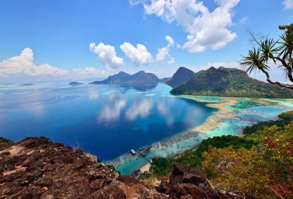 Isola di Bohey Dulang, Borneo, Malesia (iStock)