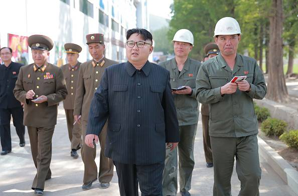 Kim Jong-Un, Corea del Nord (AFP PHOTO/KCNA VIA KNS/Getty Images)