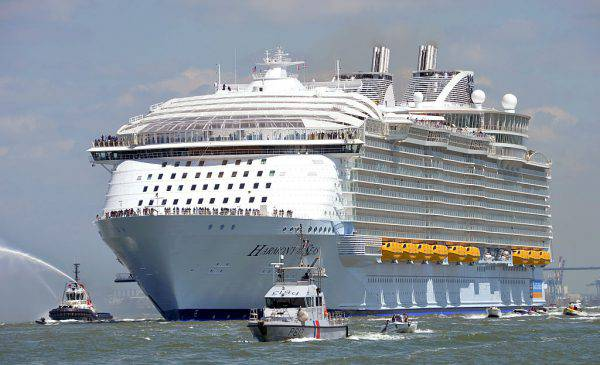 Harmony of the Seas (JEAN-FRANCOIS MONIER/AFP/Getty Images)