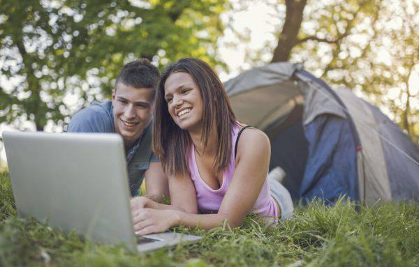 Wi-fi in campeggio (iStock)