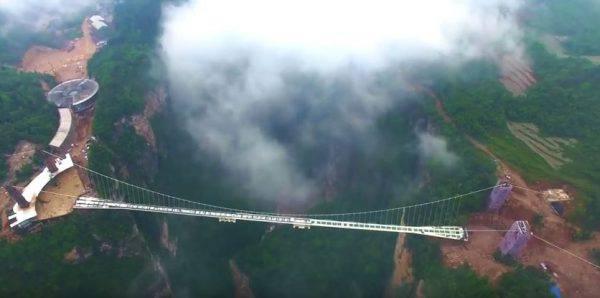 Ponte sul Parco di Zhangjiajie (Srreenshot)
