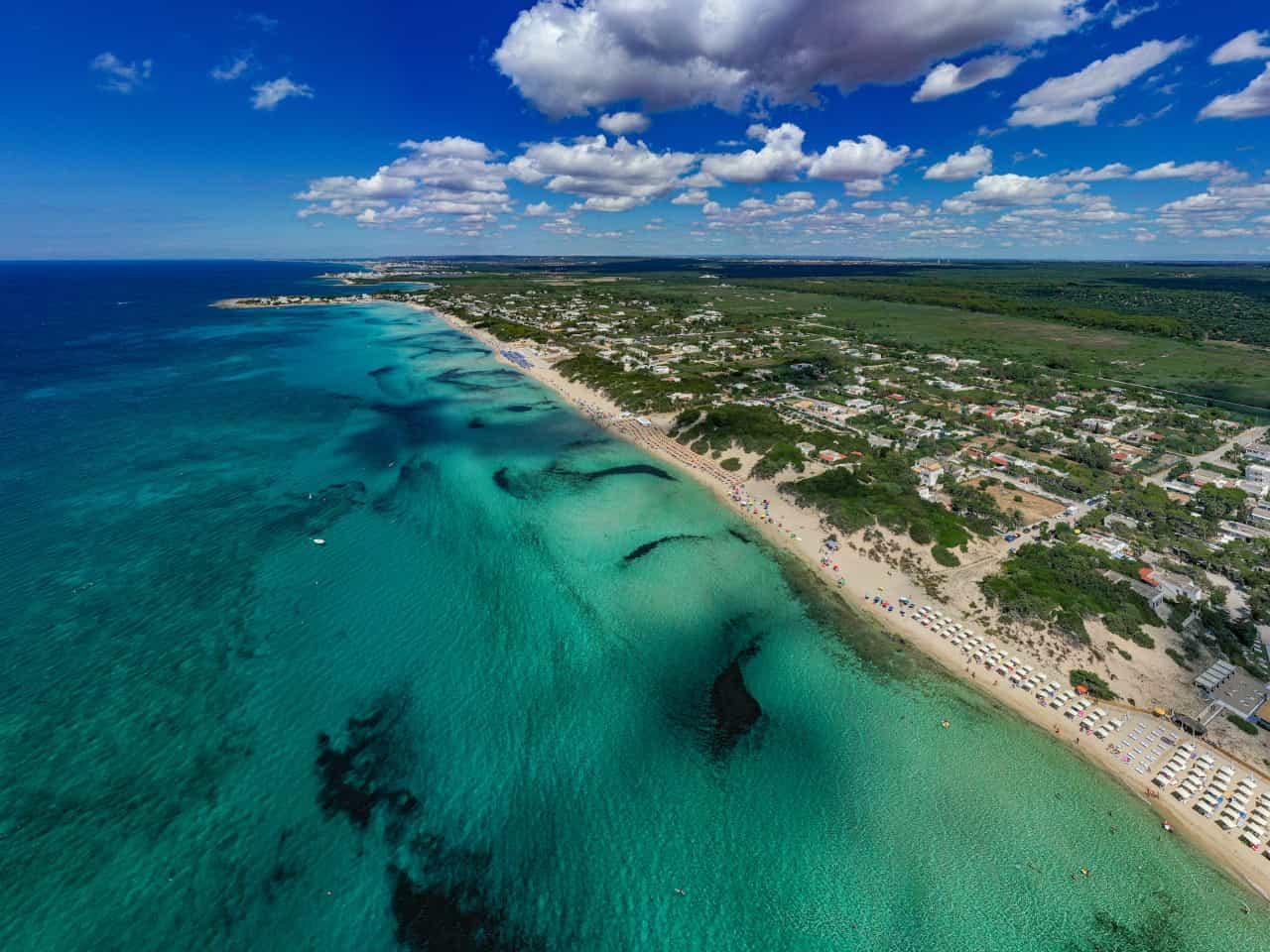 10 spiagge belle puglia