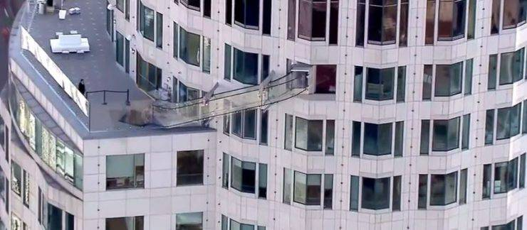 Skyslide Los Angeles (Screenshot YouTube)