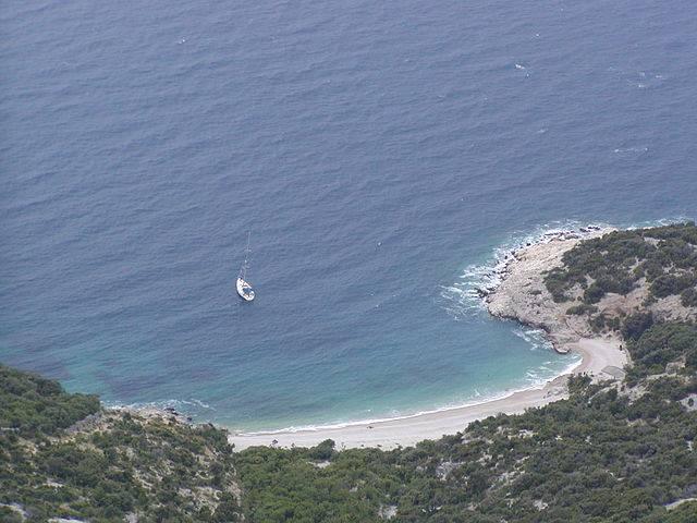 Lubenice, Isola di Cherso, Croazia (Pinky, CC BY-SA 3.0, Wikipedia)